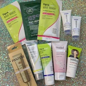 10pc DEVACURL & more curly haircare kit